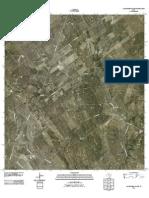 Topographic Map of Las Escobas Ranch