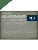 Organizational Change and Stress Management(1)