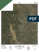 Topographic Map of Agua Nueva