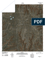 Topographic Map of Sheffield SE