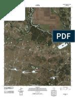 Topographic Map of Rosser SW
