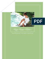 Master Spa Legend Owner's Manual
