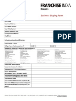 Business Buying Form