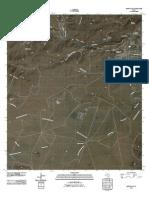 Topographic Map of Fort Davis