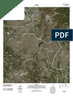 Topographic Map of Bastrop