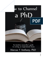 How to Channel a PhD (2)