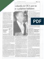 Articulo de Mario Vargas Llosa publicado en abc (Paraguay) el 25 de setiembre de1994.