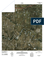 Topographic Map of Darst Creek