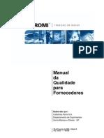 Manual Da Qualidade Para Fornecedores - Edicao B