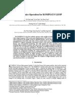 Flight Dynamics Operation for KOMPSAT-5 LEOP