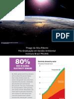 Apresentação Energia Solar - Pós em Gestão Ambiental - PNUMA/UFRJ