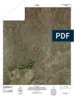 Topographic Map of Pinto Mountain