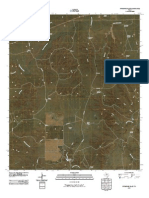 Topographic Map of Pitchfork Flats