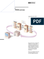 HP-AN1299_Introduction to BER Testing of WDM Systems
