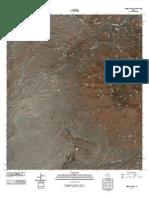 Topographic Map of Sierra Parda