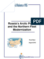 Russia's Arctic Policy and the Northern Fleet Modernization