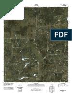 Topographic Map of Mercers Gap