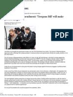 Goodbye, First Amendment 'Trespass Bill' will make protest