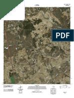 Topographic Map of Leona