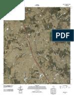 Topographic Map of Leona SW