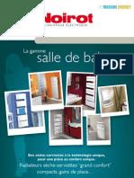 Catalogue sèche serviettes Noirot