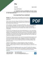 PPP Texas Senate Runoff Poll 7/29