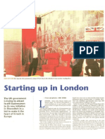 Starting up in London. The Jerusalem Post reveals the secrets of doing business in London - part 1