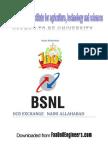 60469012 Summer Training Report on Bsnl Ocb Naini Exchange Allahabad