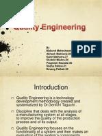 Quality Engineering