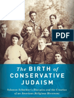 The Birth of Conservative Judaism