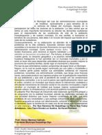 Plan Municipal de Desarrollo Huazalingo