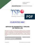 Servicio de Diagnostico y Analisis de Trafico LAN 2005