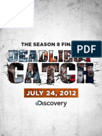 Deadliest Catch Season Finale Poster 2011 Red & Opies