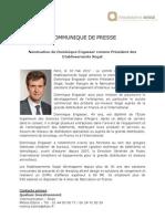 Qualium Investissement - Dominique Engasser Président des Etablissements Sogal