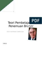 Teori Pembelajaran Penemuan Bruner