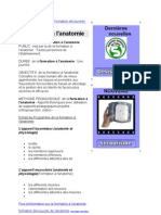 Formation Decouverte de l Anatomie