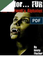 F is for... Fur the Werewolf's Alphabet