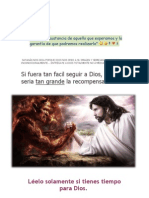 Dios vs Satanás