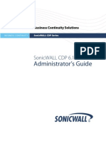 232-000530-00 Rev a SonicWALL CDP 6.1 Admin Guide