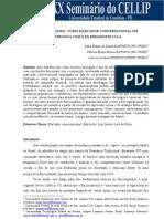 """USO DO """"AGORA"""" COMO MARCADOR CONVERSACIONAL EM ENTREVISTA COM O EX-PRESIDENTE LULA - Cellip 2011"""