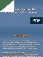 Modern Agriculture (Env)