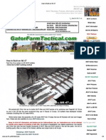 Build An AK 47 pdf | Firearms | Rifle