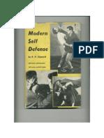 Modern Self Defense - R. H. Sigward 1958