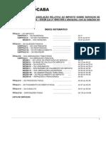 LEI 4994 ISSQN - Consolidação