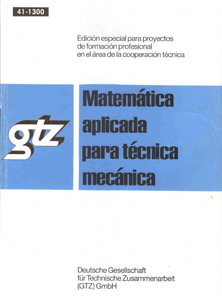 Resultado de imagen para matematica aplicada gtz