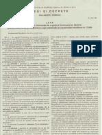 Legea Nr. 133 Din 2012 Pentru Aprobarea OUG Nr.64 Din 2010 Privind Modificarea Si Completarea Legii Cadastrulului Si a Publicitatii Imobiliare Nr. 7 Din 1996