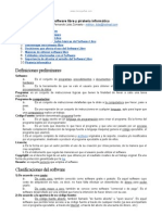 Software Libre y Pirateria Informatica