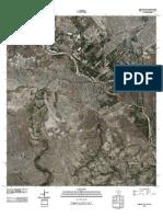 Topographic Map of Del Rio SW