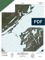 Topographic Map of Mesquite Bay