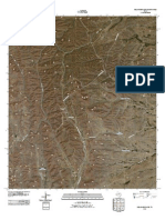 Topographic Map of Delaware Ranch